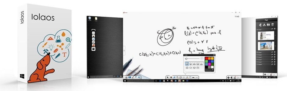 Ialos, un logiciel pour écran interactif