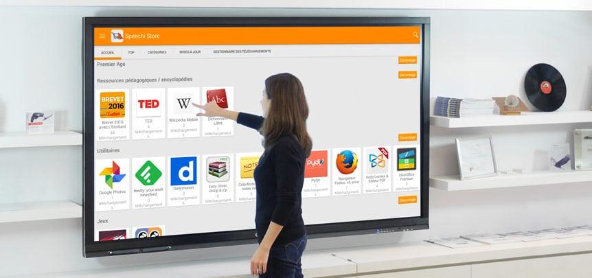 meilleur écran interactif